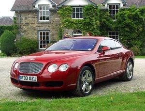 2005 bentley continental gt 0-60