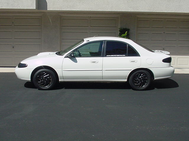 1997  Ford Escort LX sport sedan picture, mods, upgrades