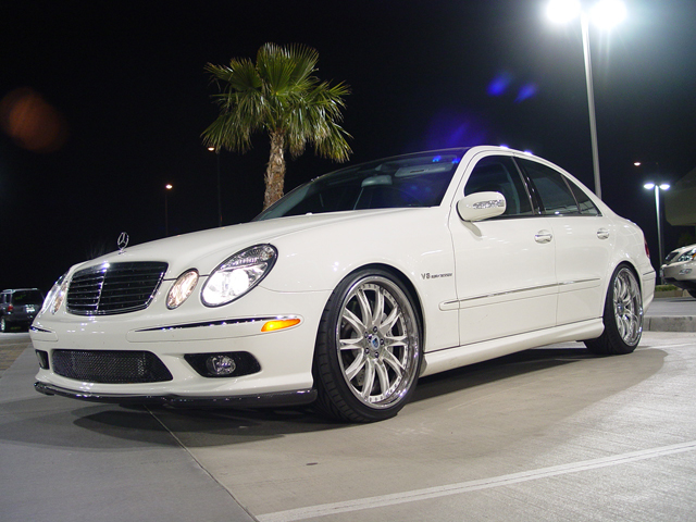 2005 Mercedes-Benz E55 AMG RENNtech Stage 1 SuperSprint Exhaust