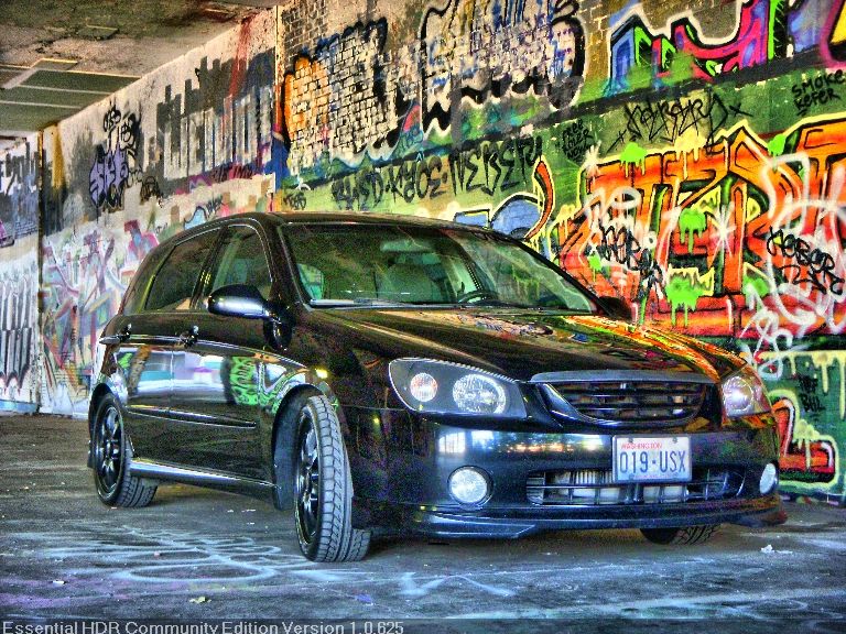 Black 2006 Kia Spectra Spec5