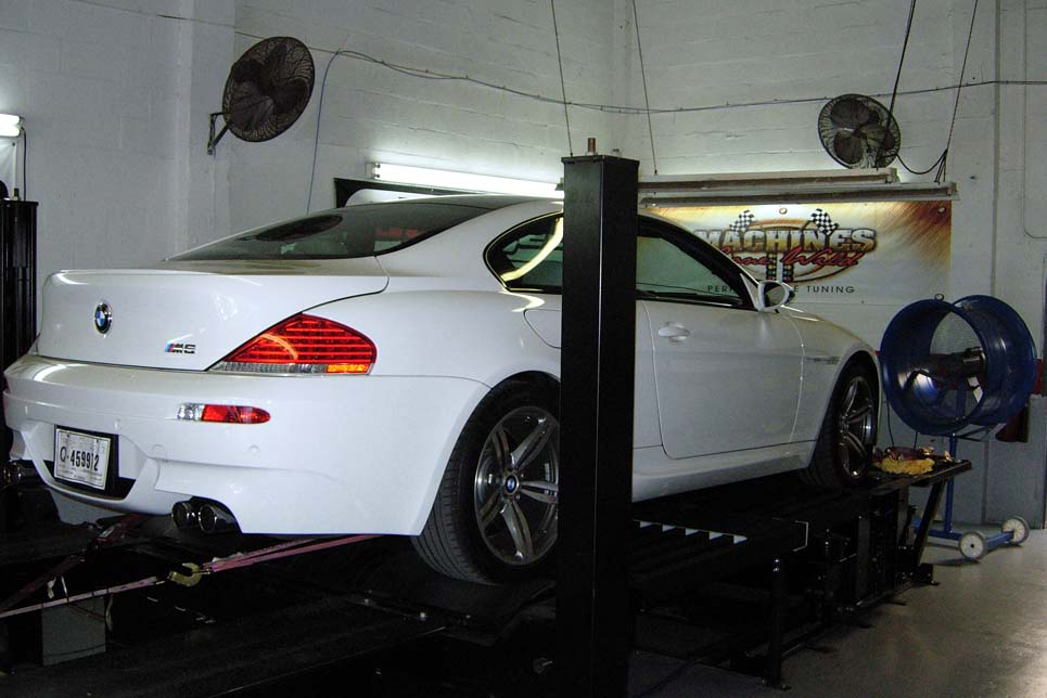 2006 BMW M6 Nitrous ASR Exhaust