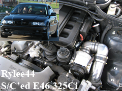 2001 BMW 325Ci AA C30 Supercharger