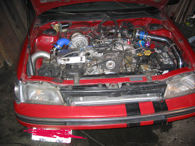 1990 Subaru Legacy Wagon Turbo & Supercharged
