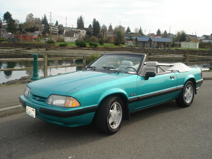 1991 Ford Mustang LX 5.0 Convertible