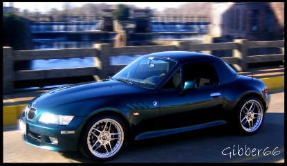 Boston Green 1998 BMW Z3 2.8 Roadster