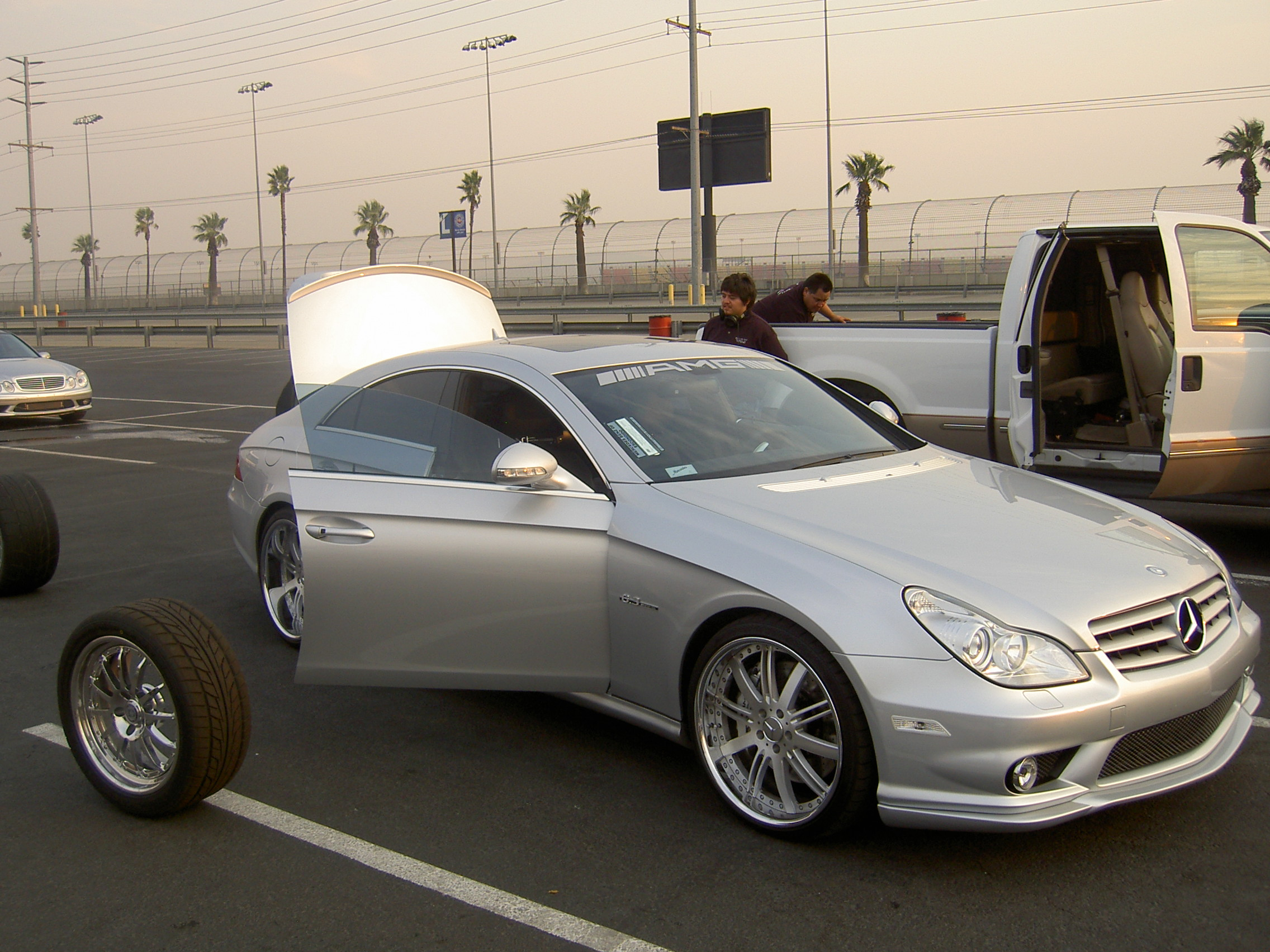 2007  Mercedes-Benz CLS63 AMG RENNtech picture, mods, upgrades