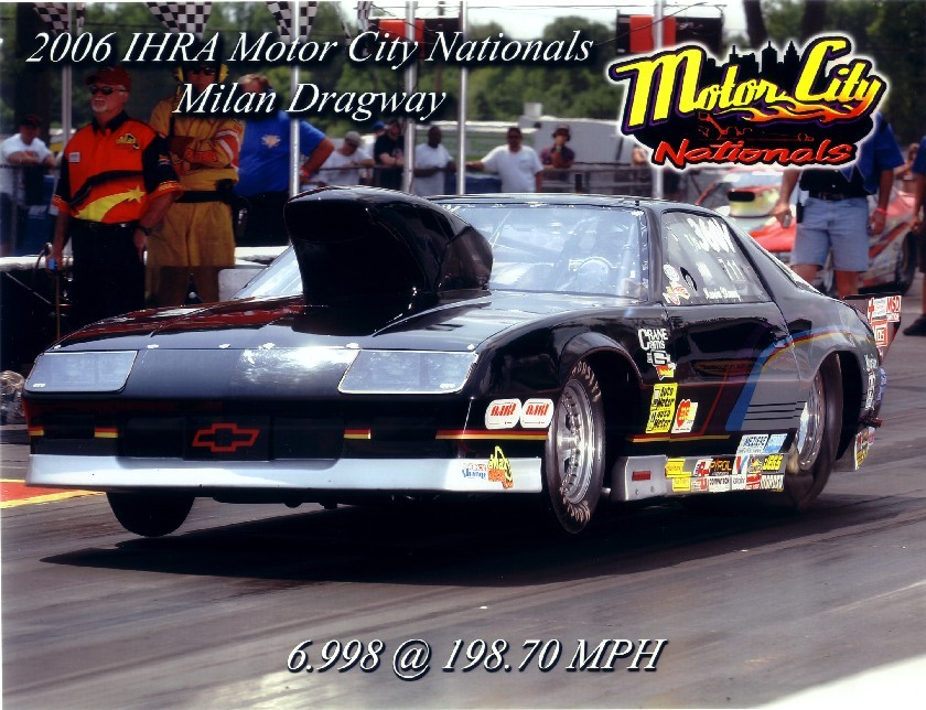 1988 Chevrolet Camaro Iroc Z28 18 Mile Drag Racing