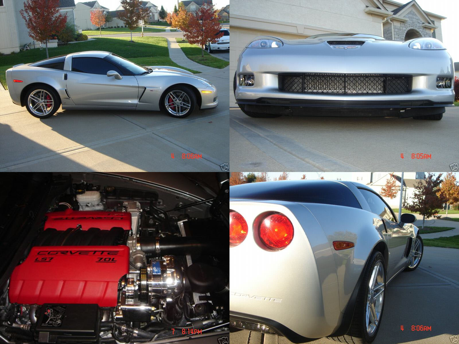 2006  Chevrolet Corvette Z06 Procharger Supercharger picture, mods, upgrades