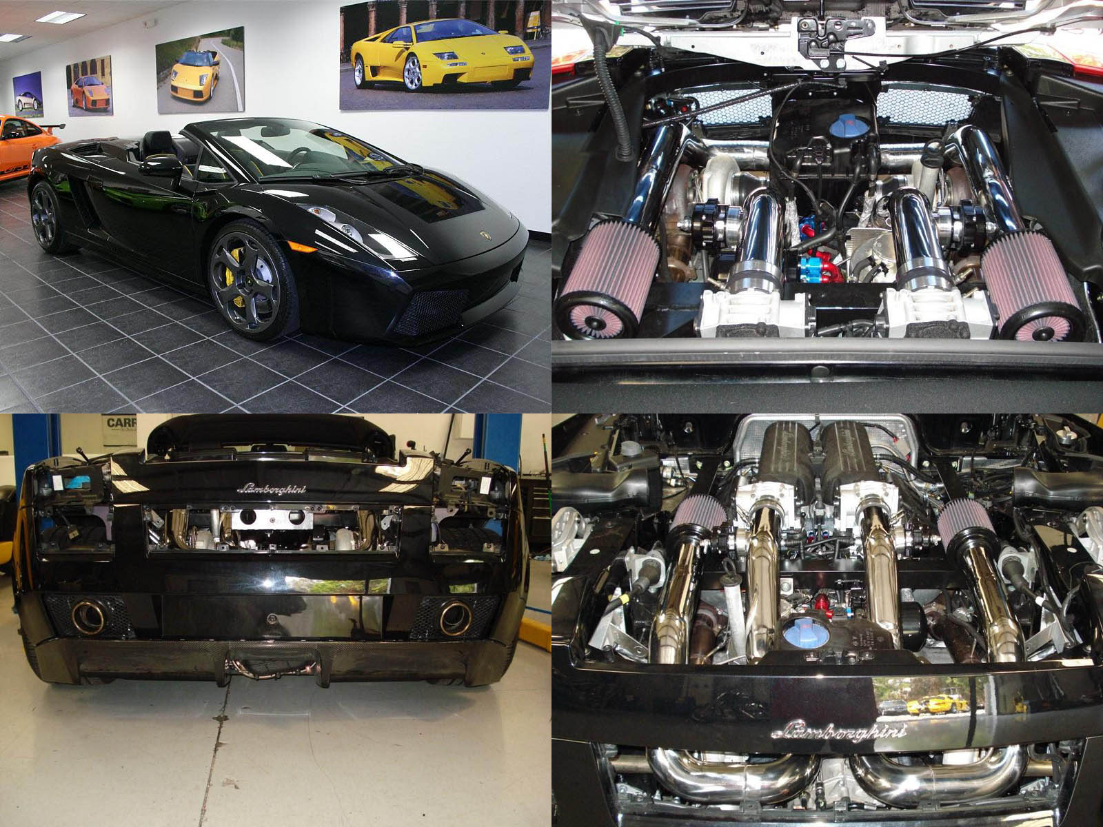 2007 Lamborghini Gallardo Heffner Twin Turbo
