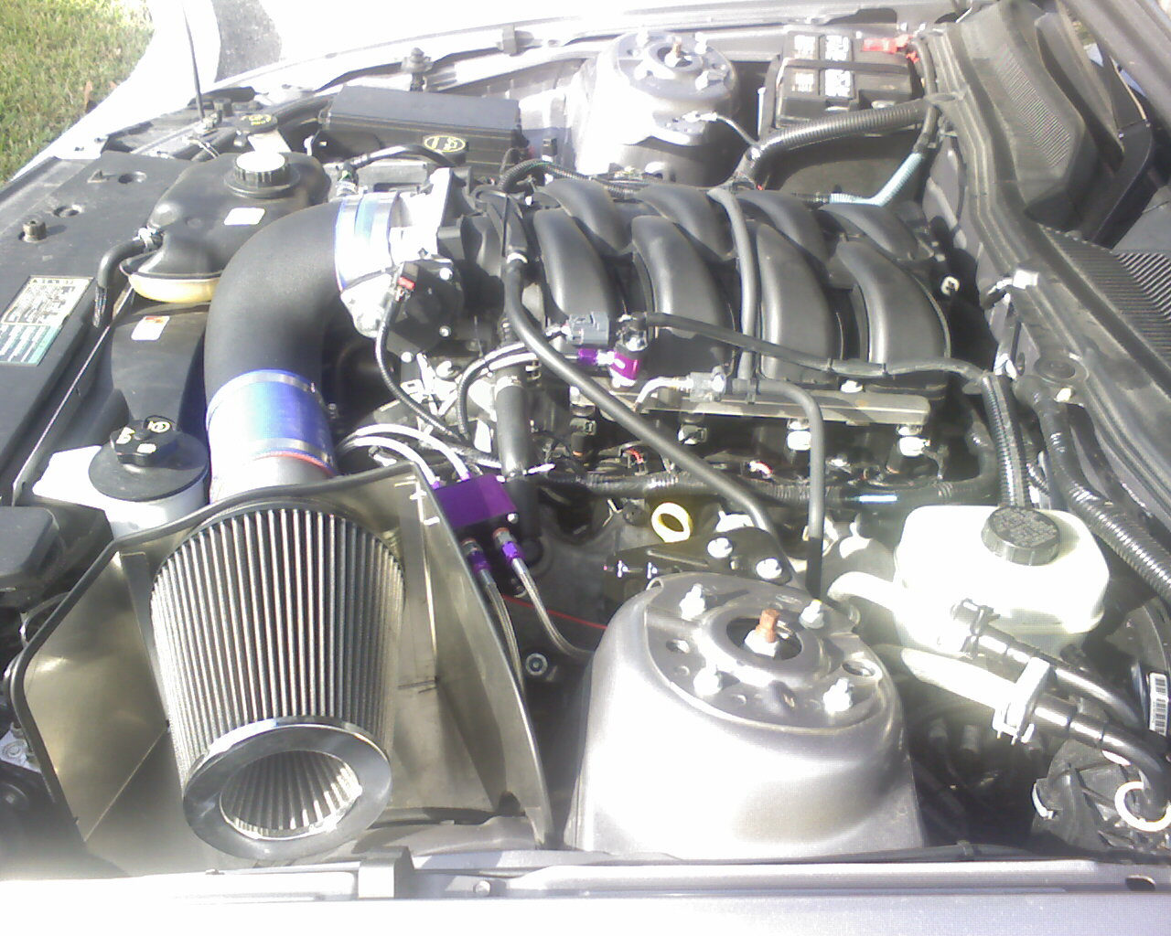 2006 Ford Mustang GT Nitrous