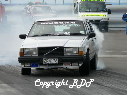 1989  Volvo 740 turbo intercooler picture, mods, upgrades