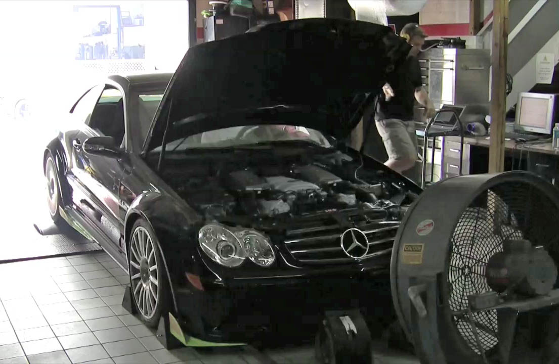2008 Mercedes-Benz CLK63 AMG Black Series RENNtech