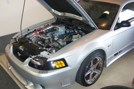 2000 Ford Mustang Saleen Twin Turbo 57mm