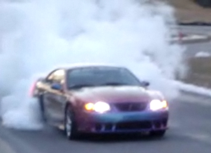 2003 Ford Mustang Saleen Cobra twin 60mm turbos