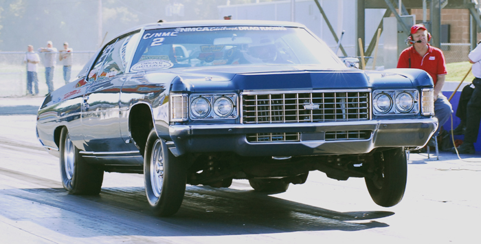 1971 Chevrolet Caprice 2 Door 406 SBC