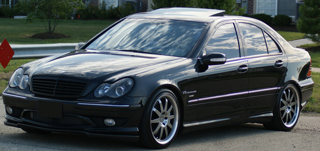 2002 Mercedes-Benz C32 AMG LET Powered