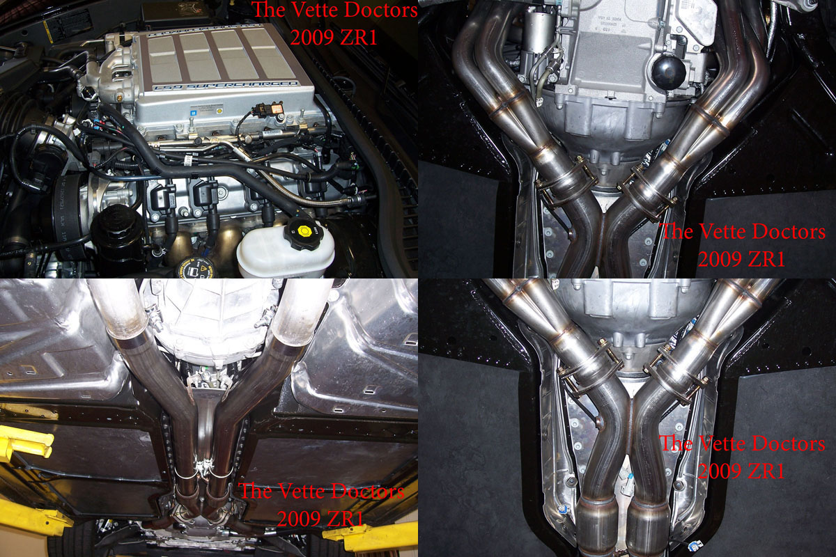 2009 Chevrolet Corvette ZR1 Headers Tune