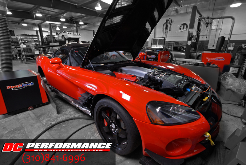 2008 Dodge Viper ACR Belanger Headers