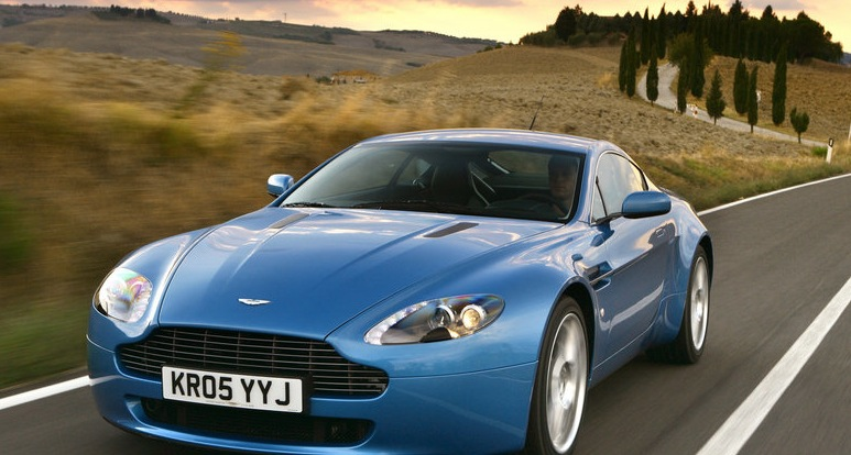 Stock 2009 Aston Martin Vantage V8 1 4 Mile Drag Racing Timeslip Specs 0 60 Dragtimes Com