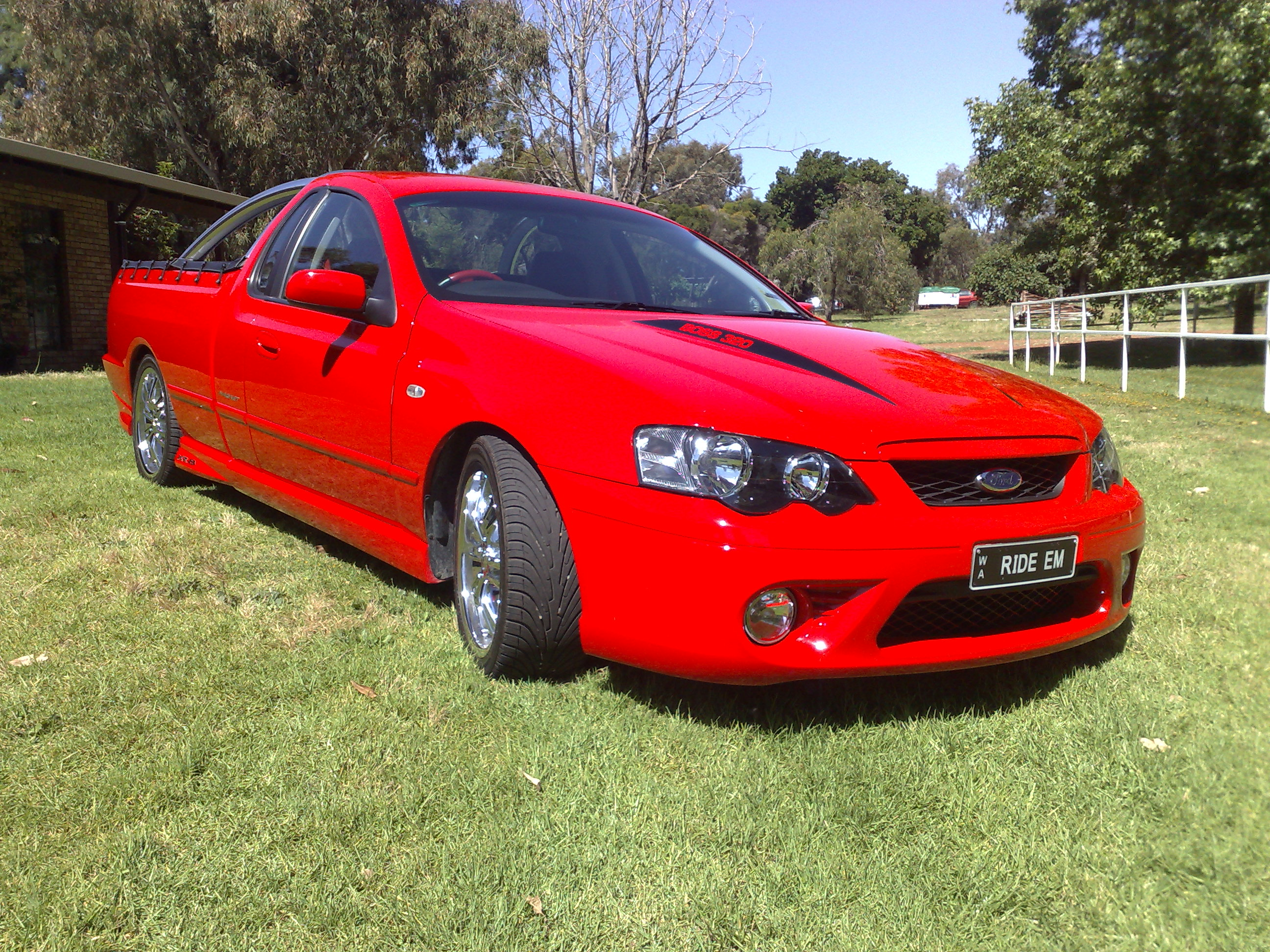 2006 Ford Falcon XR8 Ute