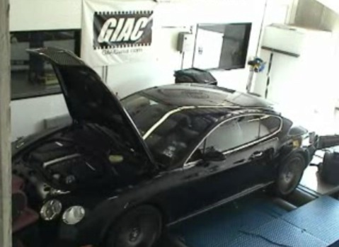 2008 Bentley Continental GT Speed ECU Tune