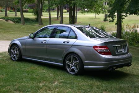 2009 Mercedes-Benz C63 AMG MHP Stage 2, P30