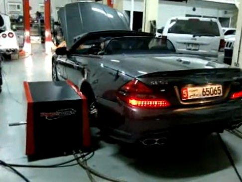 2009 Mercedes-Benz SL65 AMG RENN tech