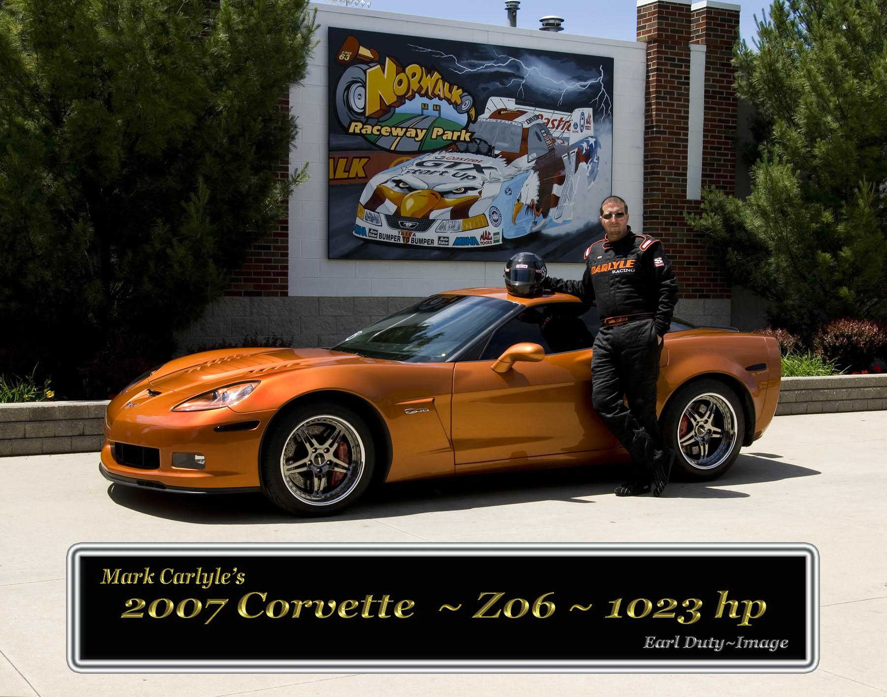 2007 Chevrolet Corvette Z06 Single Turbo GT55