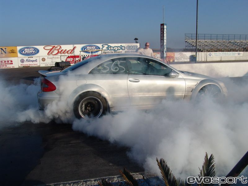 2007 Mercedes-Benz CLK63 AMG Black Series Nitrous