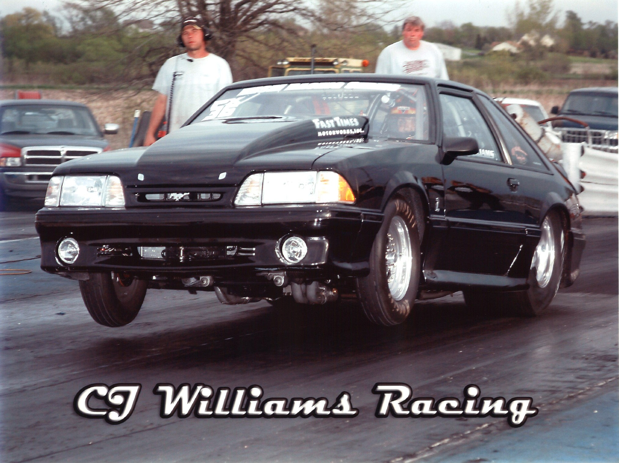 1993  Ford Mustang Cobra 363 Nitrous picture, mods, upgrades
