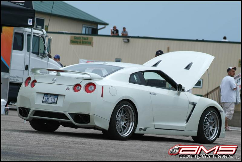 2009  Nissan GT-R AMS picture, mods, upgrades