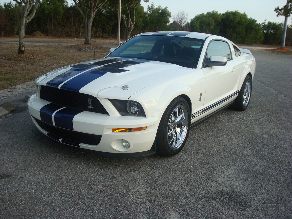 2008 Ford Mustang Shelby-GT500 Coupe Whipple Zex Nitrous