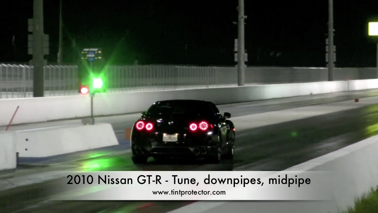 2010 Nissan GT-R Downpipes, Midpipe, Tune