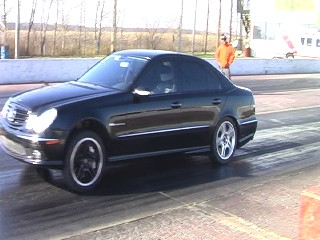 2004 Mercedes-Benz E55 AMG LET by ChicagoX (nitrous)