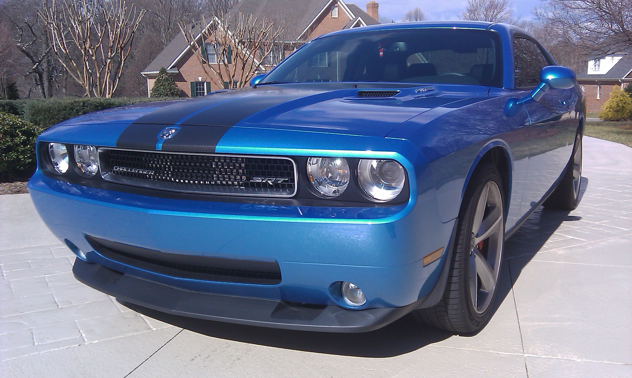 2010 Dodge Challenger SRT8 B5 Blue Supercharger