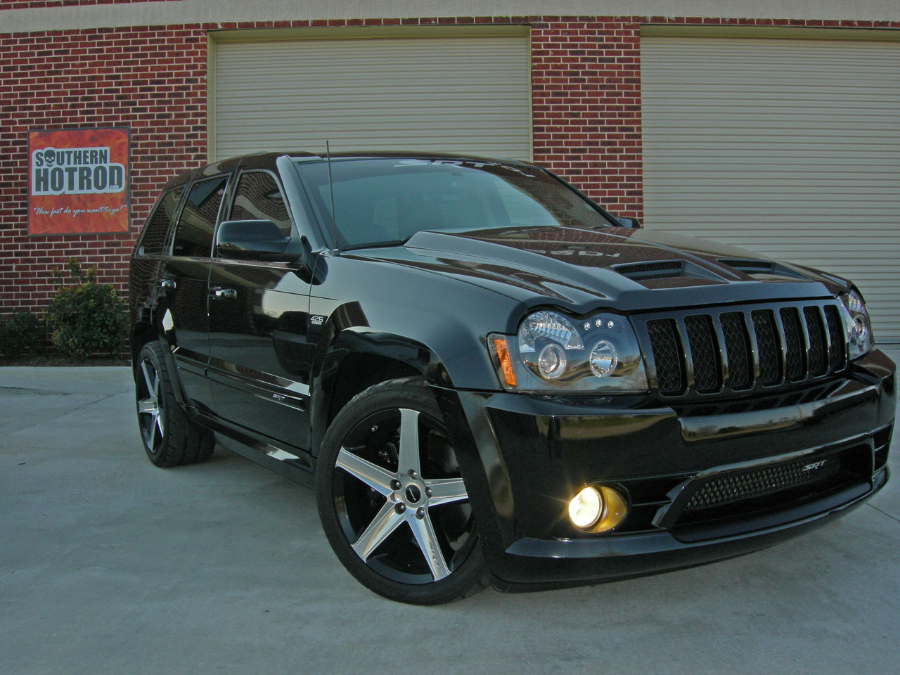 Black 2007 Jeep Cherokee SRT8 Twinturbocreations Tt