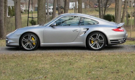 2010 Porsche 911 Turbo PDK