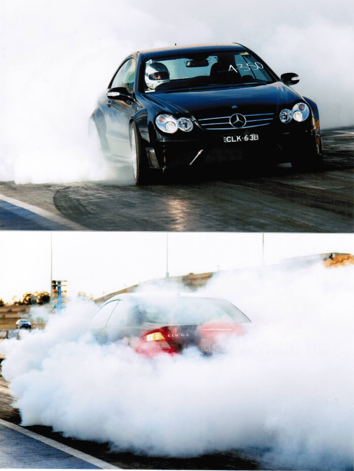2008 Mercedes-Benz CLK63 AMG black series nitrous