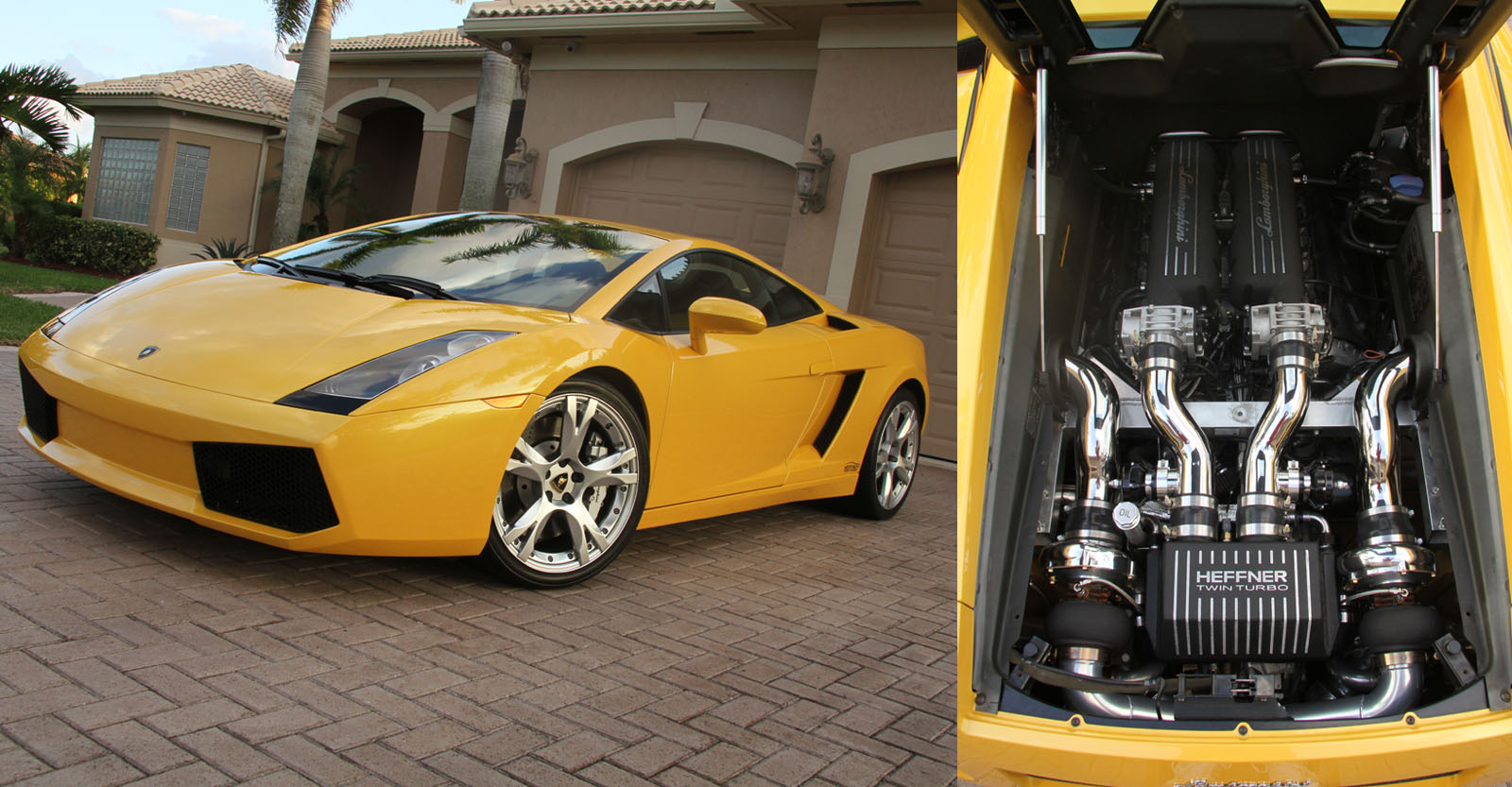 2006 Lamborghini Gallardo Twin Turbo Heffner Bolt-on Kit