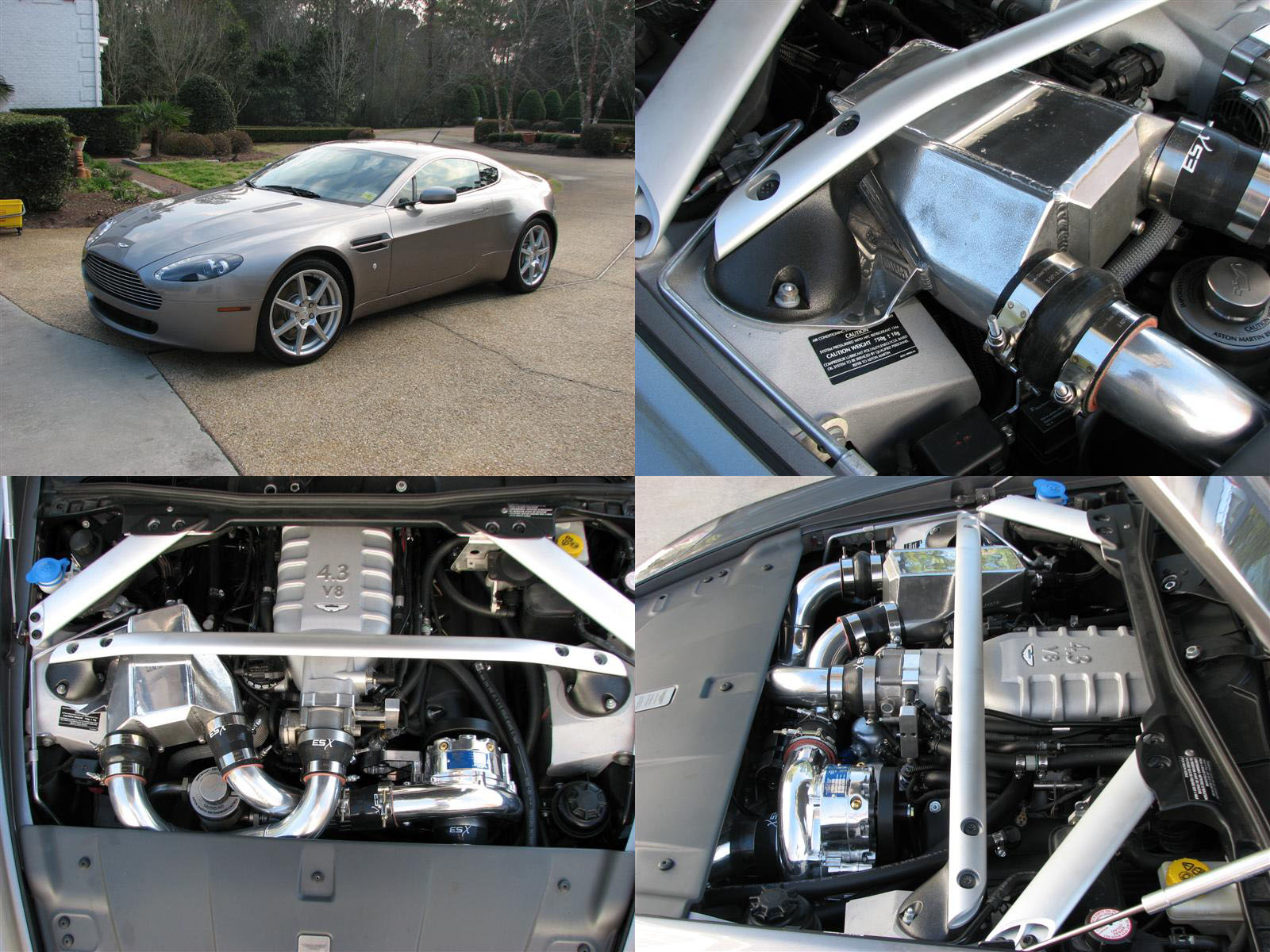 2007 Aston Martin AMV8 Manual Vortech V3 Supercharged
