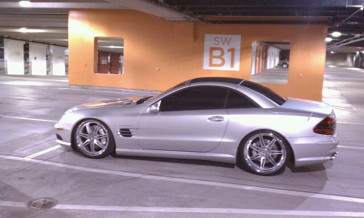 2005  Mercedes-Benz SL55 AMG MBH/Dyno Comp picture, mods, upgrades