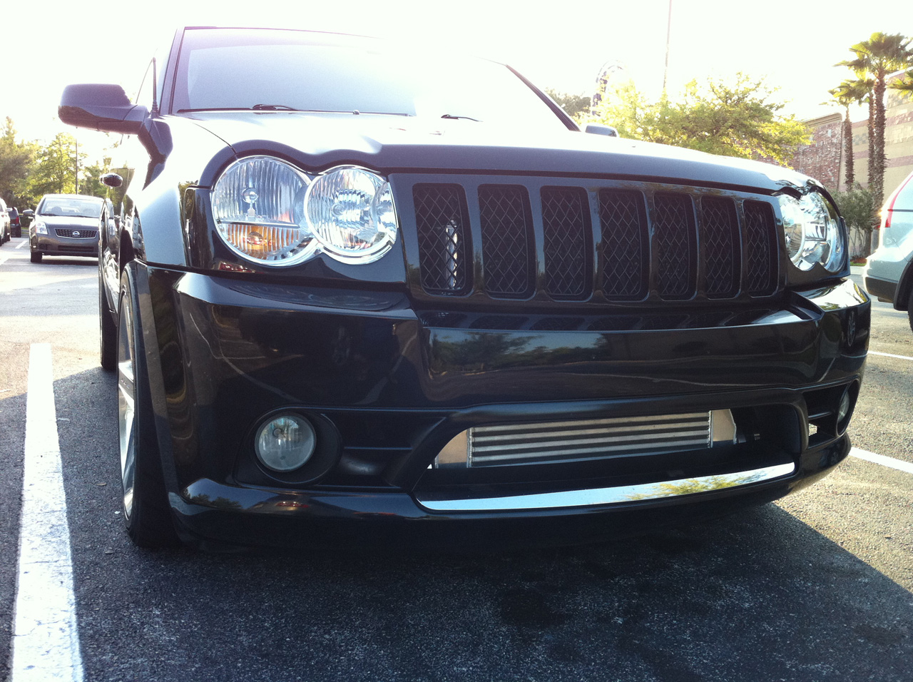 Black 2007 Jeep Cherokee SRT8 6.1L Turbo