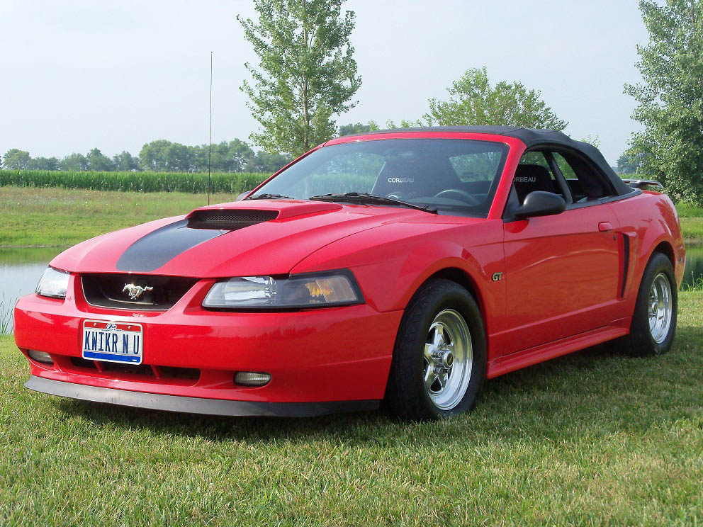 2001 Ford Mustang GT 4V Convertable