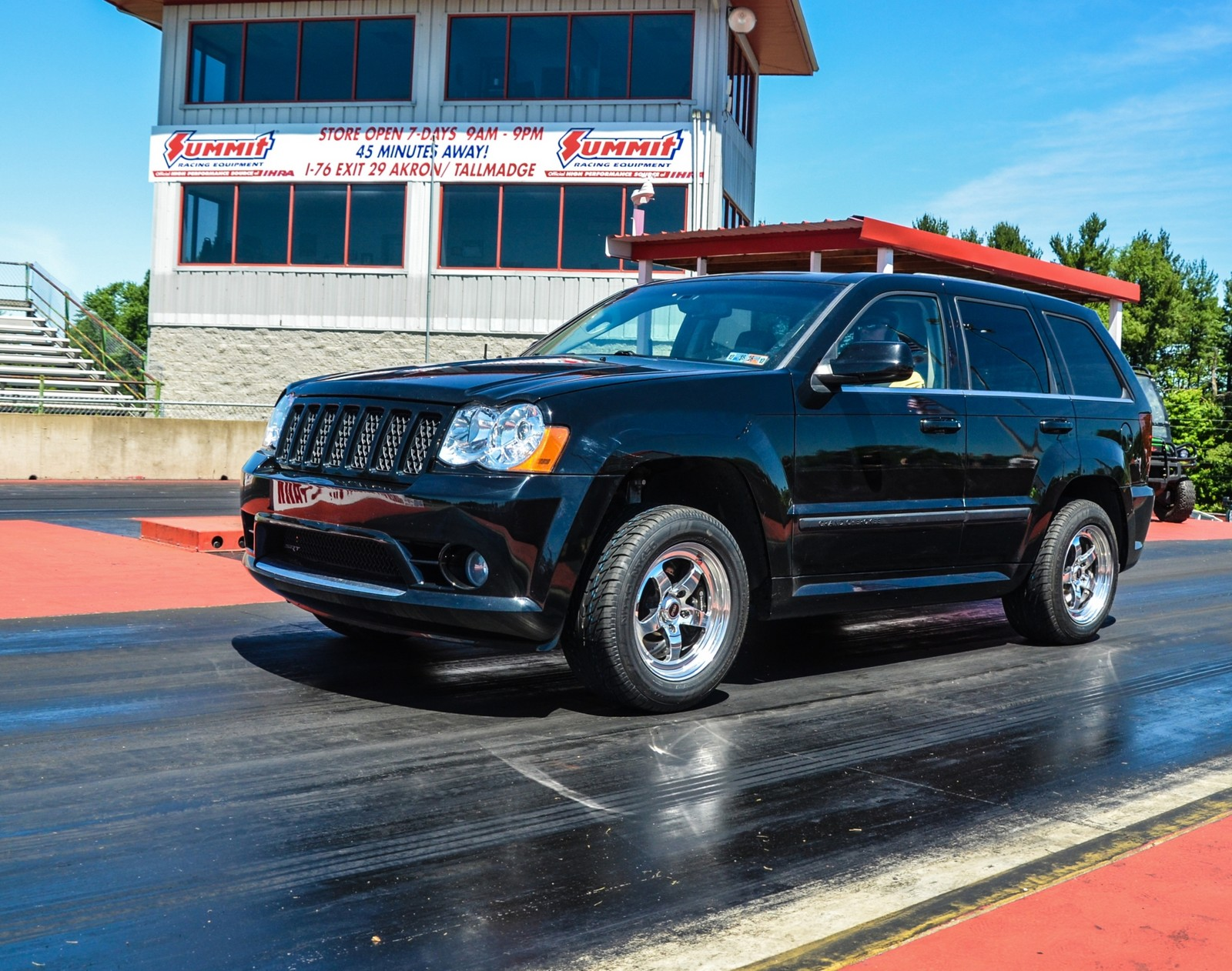 Black 2008 Jeep Cherokee SRT8