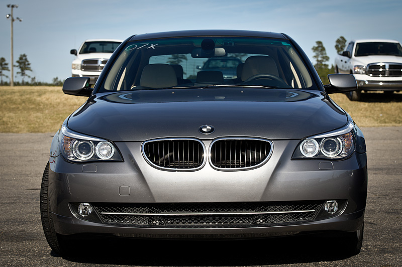 Space Grey Metallic 2008 BMW 535i Cobb stg 2+, DPs, FMIC