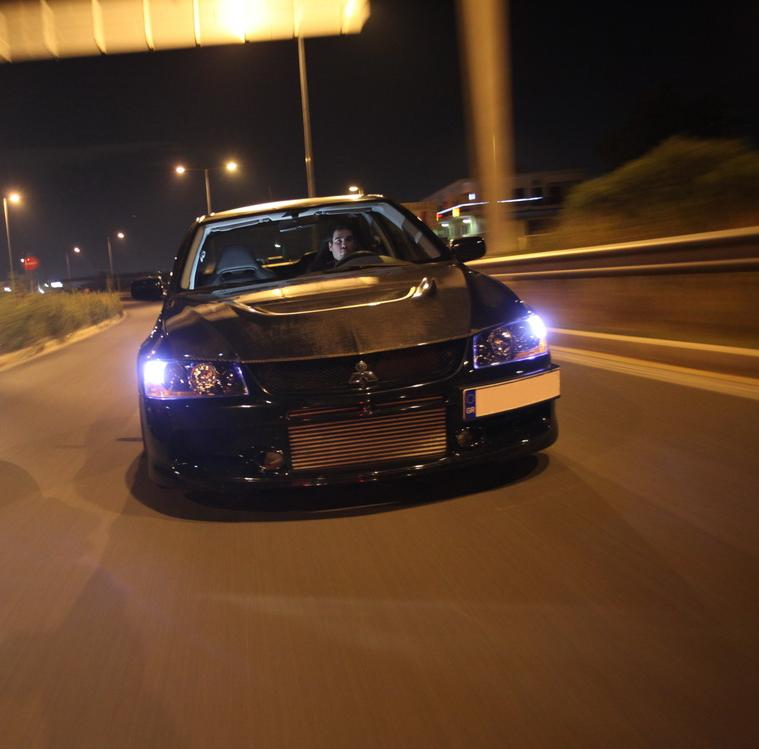 2007 Black Mitsubishi Lancer EVO IX Extreme-Tuners 1456PS picture, mods, upgrades
