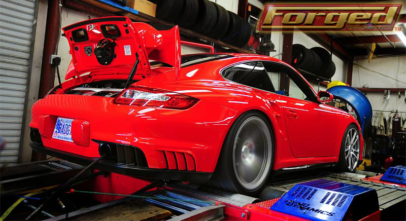 Guards Red 2011 Porsche 911 GT2