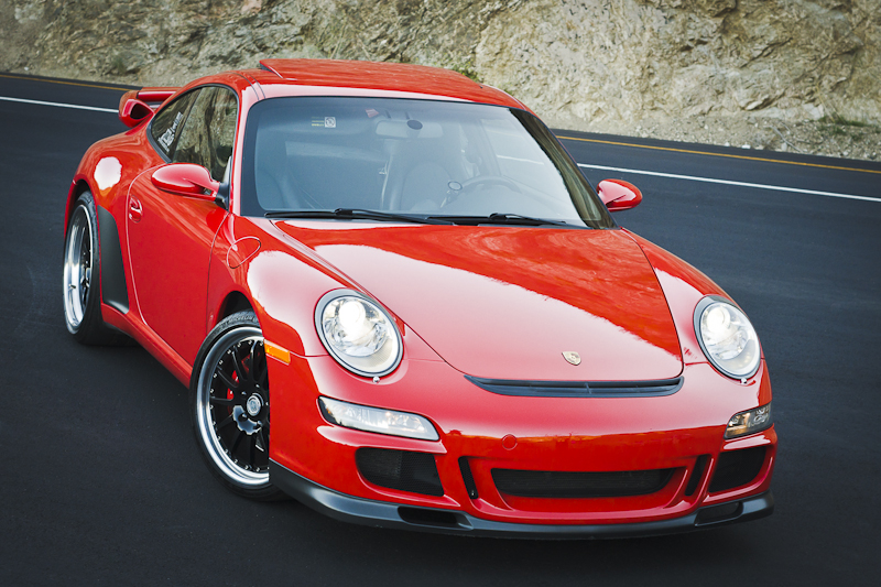 Guards Red 2005 Porsche 911 997 Carrera S VF-E Supercharged