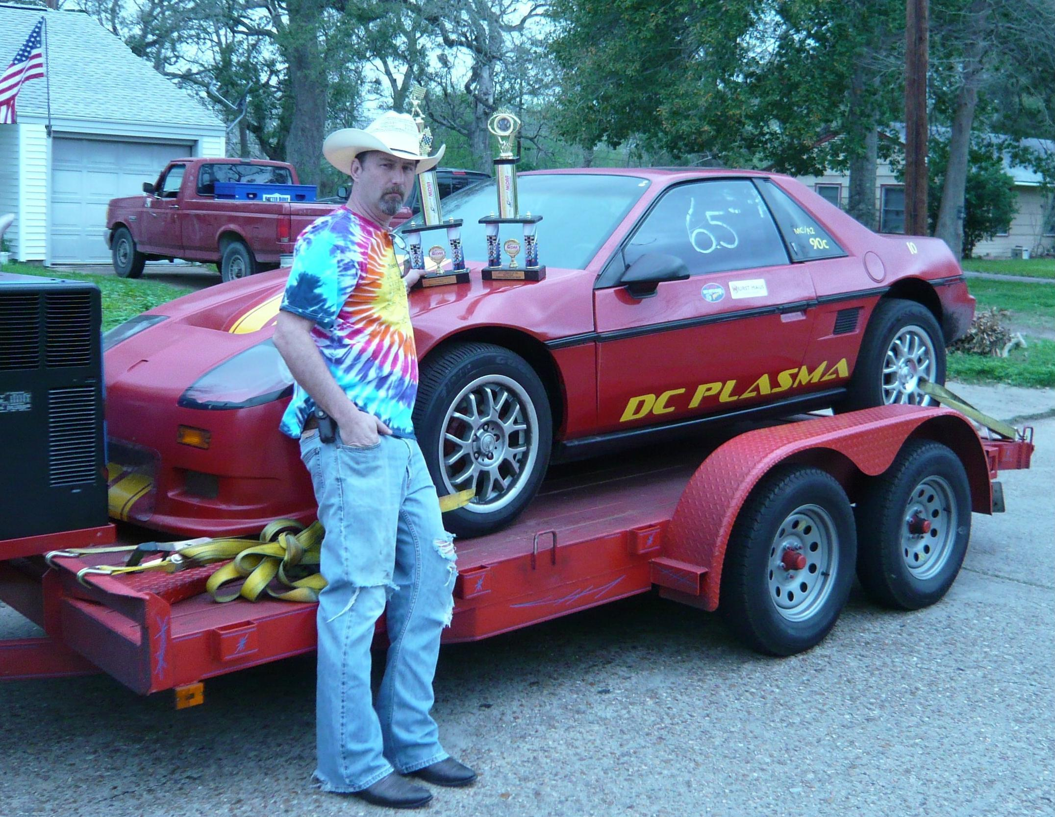 Red 1984 Pontiac Fiero 2M4