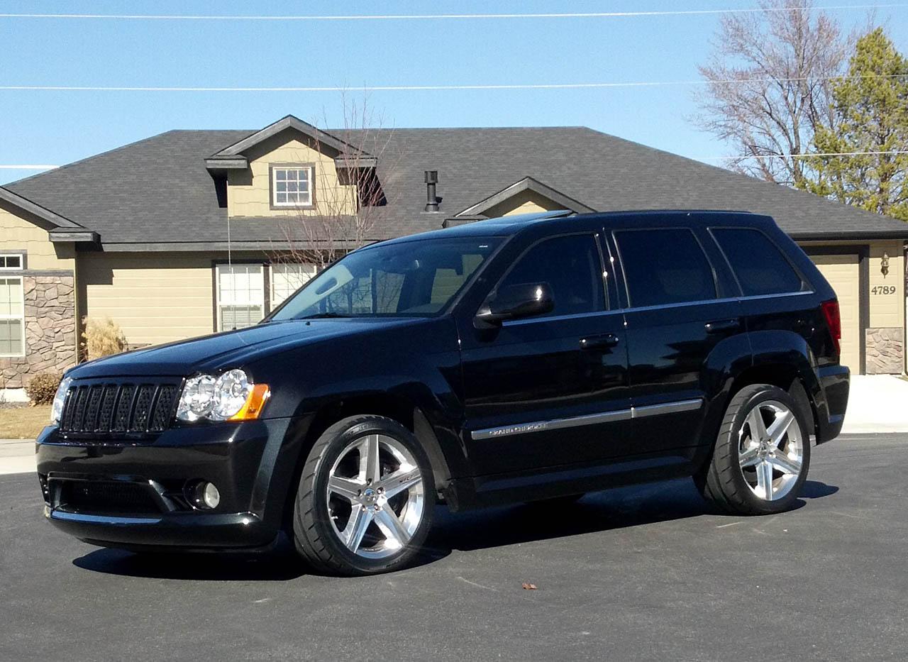 2008 jeep cherokee srt8 srt8 magnuson tvs2300 1 4 mile trap speeds 0 60. Black Bedroom Furniture Sets. Home Design Ideas